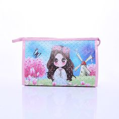 Cartoon Printing Daily Necessities Cosmetic Bag Top Quality Waterproof Wash Bag Portable Cosmetic Bags CB008