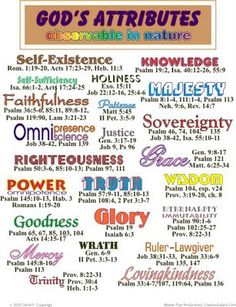 Attributes of God Bible Basics Bible Study Tools, Scripture Study, Scripture Journal, Scripture Reading, Bible Scriptures, Bible Quotes, Motivational Scriptures, Lyric Quotes, Movie Quotes