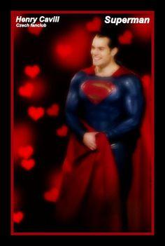 Smiling Superman Henry filming in Chicago November 2014 <3