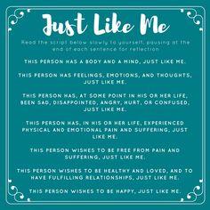 Just Like Me #ThoughtfulThursday