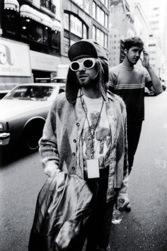 Kurt Cobain photographed by Jesse Frohman in New York, July 1993