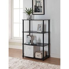 Mainstays No Tools 6-Cube Storage Shelf