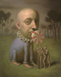 Creepy Art, Weird Art, Arte Horror, Horror Art, Arte Lowbrow, Surealism Art, Arte Peculiar, Arte Obscura, Surrealism Painting