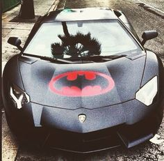 Batman car  damn looks fresh