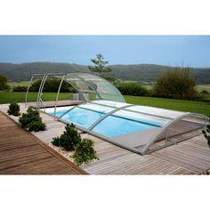 #Cubierta baja modular y ligera para proteger la #piscina de las inclemencias del tiempo.