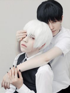 悲劇 - mishacos Ken Kaneki Cosplay Photo - Cure WorldCosplay