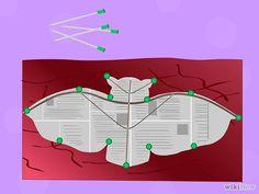 How To Make A Chinese Kite Make chinese kites step 6 jpg Cute Crafts, Diy And Crafts, Crafts For Kids, Kite Decoration, Kite Building, Chinese Kites, Wingsuit Flying, Kite Designs, Kite Making