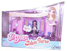 Amazon.com: Lil Bratz Salon Purse Playset - Yasmin: Toys & Games