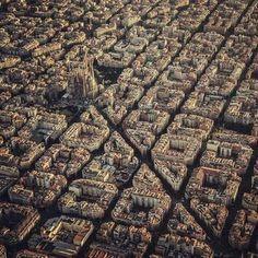 Luchtfoto Barcelona