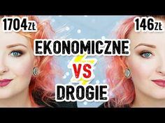 EKONOMICZNE vs DROGIE ♡ Red Lipstick Monster ♡ - YouTube