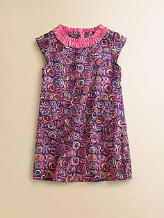 Really want to find this dress again.    Lilly Pulitzer Kids Toddler's & Little Girl's Swirl-Print Dress