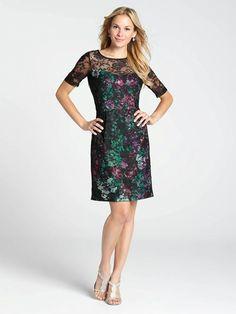 Lace Top Floral Print Dress Floral Tops, Floral Prints, Plus Size Fashion, That Look, Cold Shoulder Dress, Lace, Outfits, Clothes, Style