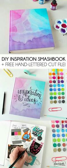 Best DIY Gifts for Girls - DIY Inspiration Smashbook - Cute Crafts and . - DIY and DIY Decorations,Best DIY Gifts for Girls - DIY Inspiration Smashbook - Cute Crafts and . Innovative Home Decor Ideas Designing hom. Smash Book, Diy For Girls, Gifts For Girls, Cute Diys For Teens, Cute Things For Girls, Diy Home Decor For Teens, Diy Room Decor For Girls, Teen Diy, Crafts For Teens To Make