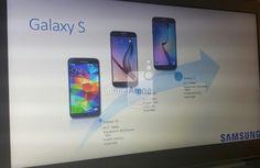 Samsung Galaxy S7: Filtrada su diapositiva de presentación