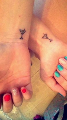 Tattoo tiny small bestfriend best friend matching