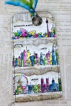 Vintage Muse Designs: 12 Tags of 2015 {My July Version}