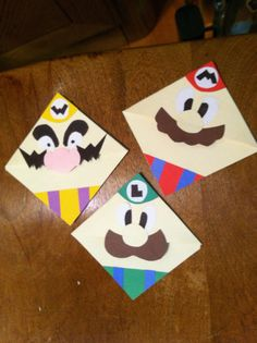 Nintendo Corner Bookmark marioluigi by CornerBookMarks on Etsy, $4.00 - made by my cousin!