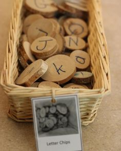 A simple addition of letters or numbers to loose parts can help with the infusion of literacy and numeracy in your classroom. Literacy And Numeracy, Preschool Literacy, Early Literacy, Literacy Activities, Preschool Activities, Space Preschool, Letter B Activities, Fairy Dust Teaching, Reggio Inspired Classrooms