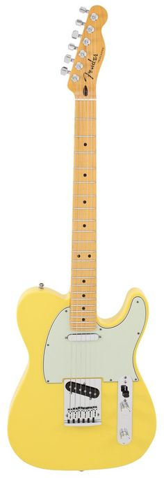 Fender Electric Guitar Custom Shop Custom Deluxe Telecaster Graffiti Yellow