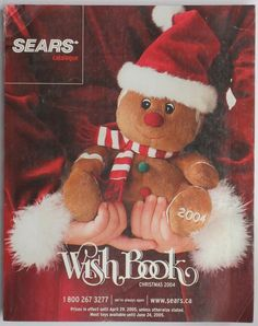 2004 Sears Wish Book WishBook Christmas Catalog Christmas Catalogs, Old Christmas, Christmas Scenes, Retro Christmas, Christmas Wishes, Christmas Pictures, Right In The Childhood, Retro Toys, The Good Old Days