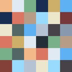 Zementfliesen von Articima: Patchwork einfarbig