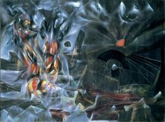 Roberto Matta, The Disasters of Mysticism @artsy