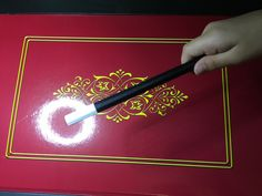 A Customized Magic Wand by ASLLEXICON. Based on a design by mariothemagician.