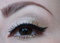 Blog of Shadows: 12 Make Up Looks of X-mas: Day 9: Gold, Frankincense and Myrrh