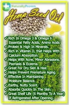 Hemp oil (Carrier Oil for Essential Oils) is rich in vitamin D that helps with… Essential Oil Carrier Oils, Essential Oils For Skin, Essential Oil Perfume, Essential Oil Blends, Oil Benefits, Hemp Seeds, Natural Oils, Natural Skin, Natural Health