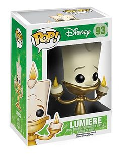 Amazon.com: Funko POP Disney Beauty and the Beast: Lumiere: Funko Pop! Disney:: Toys & Games