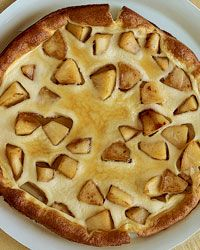 Souffleed Apple Pancake