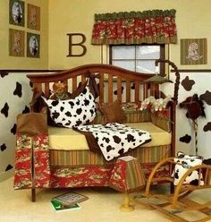 Western babys room, I know you'll fall in love with this one....