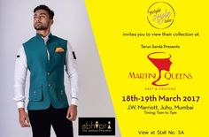 Purple Style Labs Invites You to view the collection of Abhipri - The Jodhpur Paridhan at Martini Queens #Fashion and #LifestyleExhibition on 18th – 19th March 2017 at JW Marriott Hotel Mumbai Juhu.  For Queries Contact @ 09811923456  #MartiniQueens #Abhipri #FashionExhibition #Lifestyle #Designer #Dresses #MumbaiExhibition
