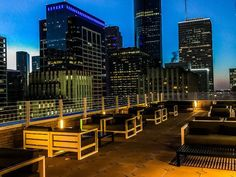 12 Houston Rooftops for Boozing with a View