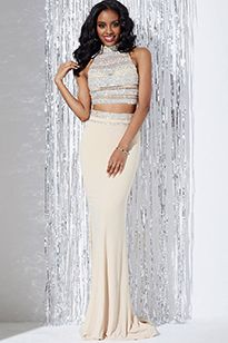 #92. Sparkle and shine in Jovani 23595