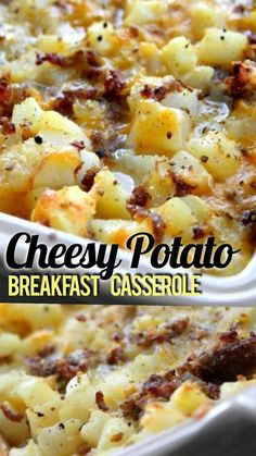 Potato Breakfast Casserole is a quick and delicious breakfast casserole t. Cheesy Potato Breakfast Casserole is a quick and delicious breakfast casserole t.,Cheesy Potato Breakfast Casserole is a quick and delicious breakfast casserole t. Breakfast Potato Casserole, Breakfast Desayunos, Breakfast Dishes, Sausage Breakfast, Breakfast For A Crowd, Breakfast Ideas With Eggs, Brunch Ideas For A Crowd, Breakfast Cassarole, Easy Egg Casserole