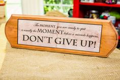 This inspirational DIY Quote Plaque is a simple decoration to add to your home! For more great DIYs watch Home & Family weekdays at 10a/9c on Hallmark Channel!