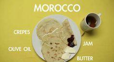#Breakfast of Morocco :)