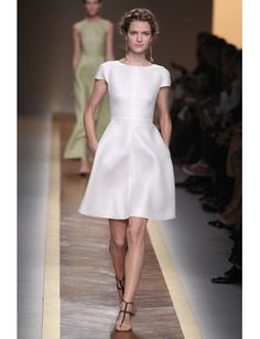What I want to wear for college reunion: Valentino Spring 2012