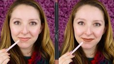 KYLIE COSMETICS LIP LINER IN ICED LATTE SWATCH & REVIEW - YouTube