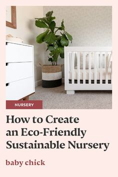 More families are choosing to design eco-friendly and sustainable nurseries for their little ones. And it's never been easier! Here's how. #nursery #ecofriendly #pregnancy *sponsored by Naturepedic* Crib Mattress, Crib Sheets, Pregnancy Pillow, Nursing Pillow, Crib Blanket, Nursery Neutral, Nursery Design, Nurseries, Girl Nursery