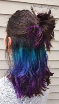 Crazy Fun Hair Color Ideas for Brunettes That Really Rock Your Hair, Crazy Fu. Crazy Fun Hair Color Ideas for Brunettes That Really Rock Your Hair, Crazy Fu. Creative Hair Color, Cool Hair Color, Hair Color For Kids, Hair Color Ideas For Brunettes For Summer, Kids With Colored Hair, Crazy Hair Colour, Hair Color Tips, Nice Hair Colors, Bold Colors