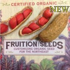 Certified Organic Seeds and transplants for the Northeast www. Certified Organic See Herb Seeds, Garden Seeds, Organic Vegetables, Fruits And Vegetables, Garden Catalogs, Garden Animals, Organic Seeds, Flower Seeds, Abundance