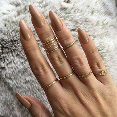 @louboutinworld nail polish in Just Nothing. #nikki_makeup #naturalnails #ilovenudes
