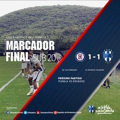 Los #Rayados Sub 20 obtuvieron un empate en su visita al Cruz Azul.