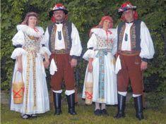 Folk Costume, Costumes, Fashion History, Czech Republic, Sari, Culture, Embroidery, Historia, Saree