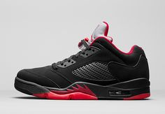 "AIR JORDAN 5 LOW RETRO ""ALTERNATE"" Release Date: January 30th, 2016"