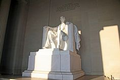 Lincoln Memorial...Washington DC...An AWE-inspiring place...PEACEFUL and full of great memories for me.  I want to go back and see it again.