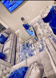 Living Room Decor Colors, Decor Home Living Room, Elegant Living Room, Cute Room Decor, Living Room Designs, Living Rooms, Room Ideas Bedroom, Bedroom Decor, First Apartment Decorating