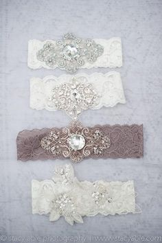 image of Vintage Sexy Wedding Garter